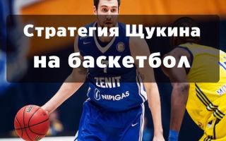 Как использовать стратегию Щукина для выигрыша в ставках на баскетбол